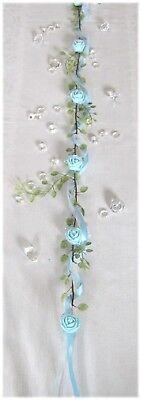 lande in hellblau, Tischdekoration Hochzeit, Taufe.. (Blau Taufe Dekorationen)