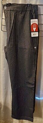 Chef Works New Professional High Quality Chef Pants Sz Xl Cookserver