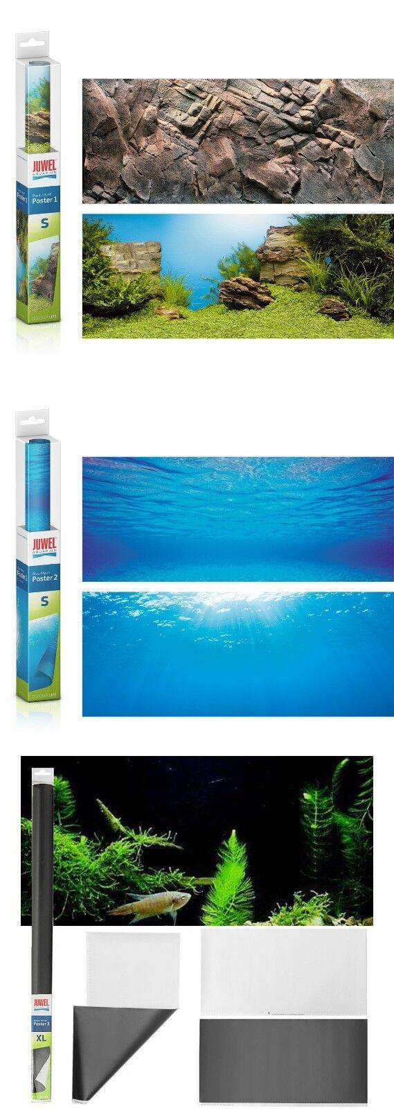 Juwel Aquarium Rückwand Poster 1 / 2 / 3 verschiedene Motive und Größen