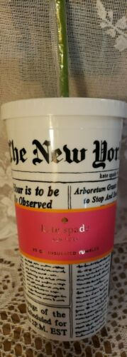 Kate Spade New York - MAKE HEADLINES 20oz Insulated Tumbler/