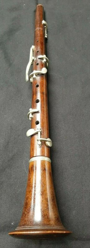 VINTAGE CARL FISCHER NEW YORK WOOD PICCOLO OBOE MOUSSET MADE IN GERMANY