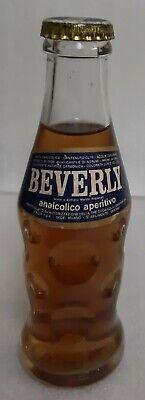 BEVERLY Analcolico Aperitivo, Coca-Cola Company (FULL BOTTLE, UNOPENED) Vintage