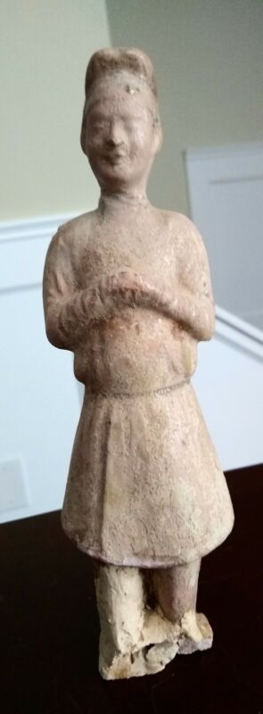 Ancient Tang Dynasty Tomb Figure - CHINA - 618 to 907 AD