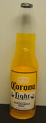 """CORONA LIGHT BEER BOTTLE 30"""" INFLATABLE BLOW UP SIGN NEW"""