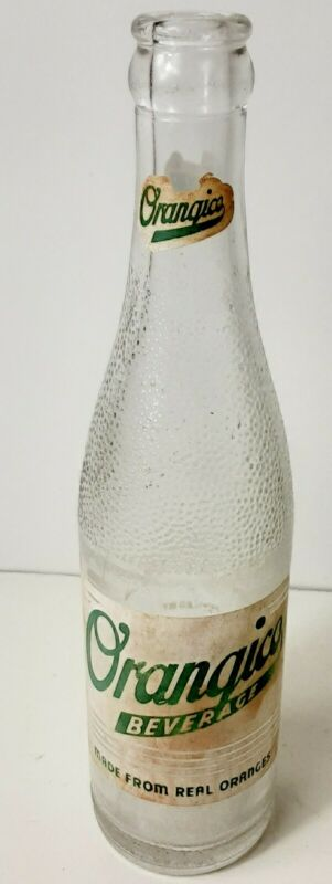 Vintage Orangico Clear Bottle From Birmingham Alabama