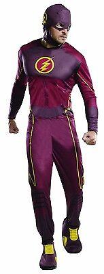 Rubies Flash Barry Allen TV Series DC Comics Adult Mens Halloween Costume 810395 - Barrie Halloween Costumes