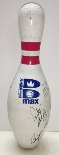 Signed Pro Bowling Authentic Pin Walter Ray Williams Jr. Parker Bohn Morin PBA