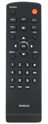 New Usbrmt Nh000ud Remote For Emerson Sylvania Tv Lc320sl1 Lc370em2 Lc401em2
