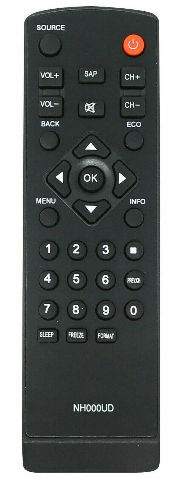 New NH000UD Replace Remote for LC320EMX LC320EMFX LC195EMX
