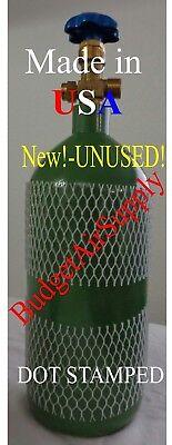 20 Cu Ft Made Usa Oxygen Tank Cylinder Cga540 Valve Hvac Welding -ships Empty