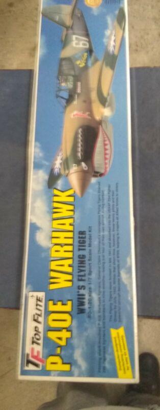 Top Flite P-40 War Hawk Kit Vintage Look