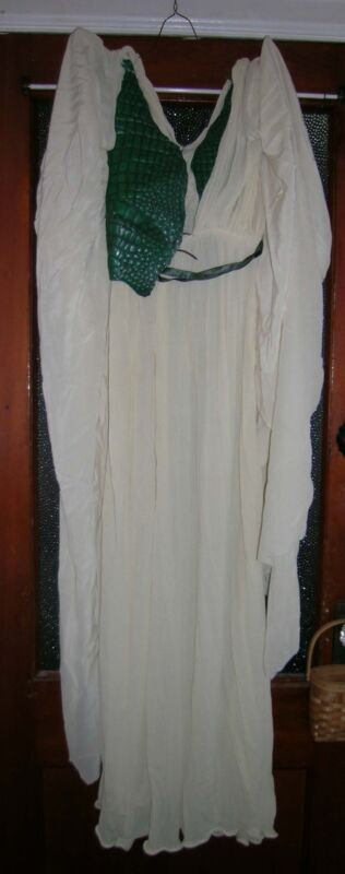 ORIGINAL SCREEN USED XENA WARRIOR PRINCESS PROP WARDROBE - GABBY DRESS AND CROWN