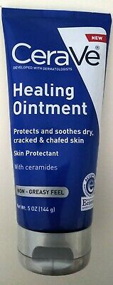 CeraVe Healing Ointment Skin Protectant Non Greasy Feel Cracked Skin Repair 5 oz