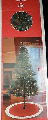 Holiday Style 6ft Artificial Pre-Lit Virginia Pine Christmas Tree w/Stand 400tip