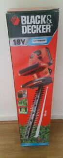 New Black & Decker 18V Cordless Lithium Hedge Trimmer-GTC650L-XE Norwood Norwood Area Preview