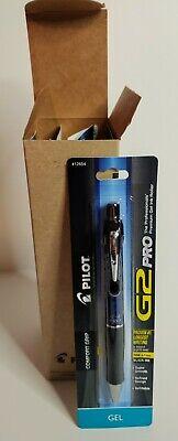 Pilot G2 Pro Pen Fine Point Black Gel Ink Pack Of 6