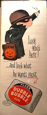 Vintage Halloween Advertising Print for