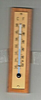 10 x 3,5 cm Antik 2er Set 1950er Zimmerthermometer blau Deutsche Marke orange