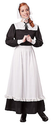 Pilgrim Woman Thanksgiving Colonial Adult Costume (Pilgrim Costume Adult)
