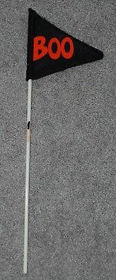 Halloween Felt Boo Pennant Banner Flag on a Stick