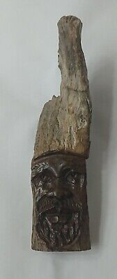 Signed Vintage Wooden Driftwood Carving Oceanic Polynesian Australian Aboriginal