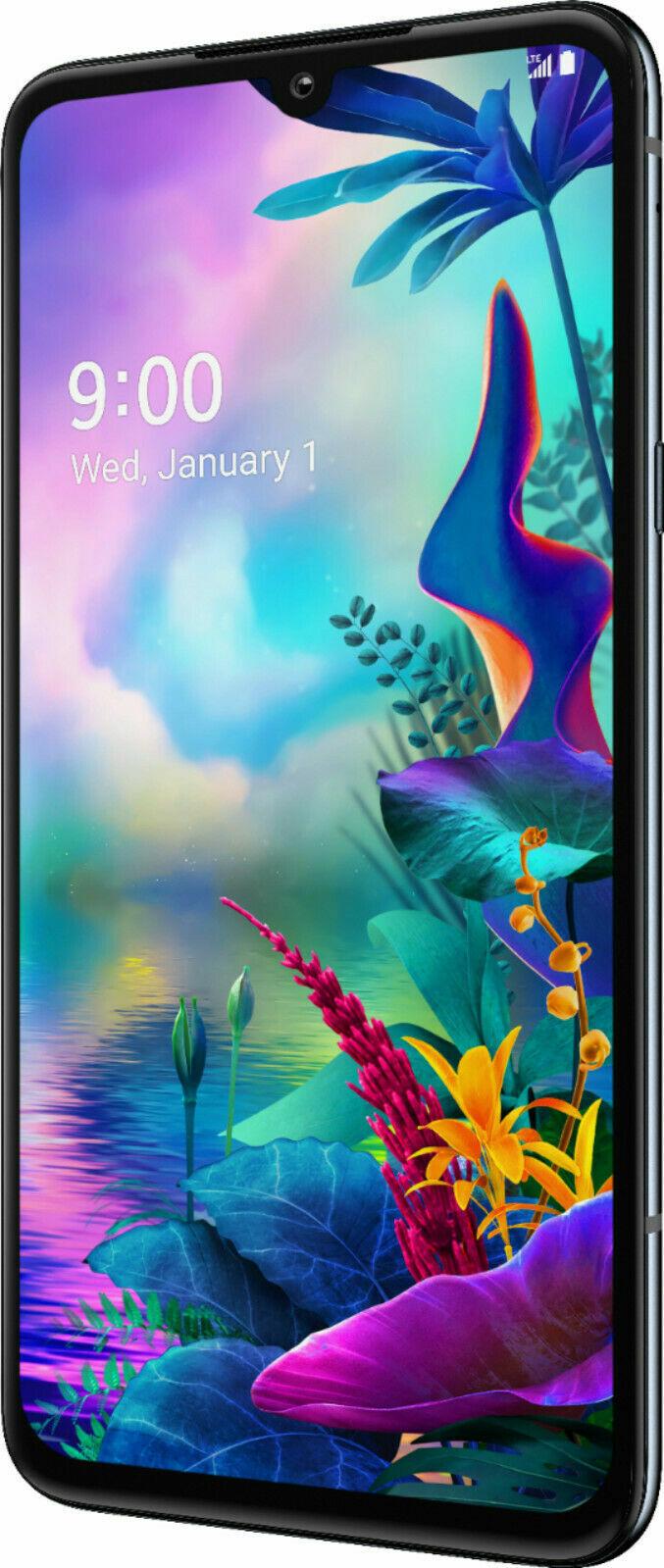 Android Phone - LG G8X ThinQ LMG850UM9 - 128GB - Black (Sprint T-mobile AT&T) 9/10 GSM Unlocked