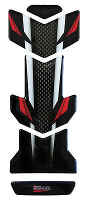 Tankpad 3D 502120 Carbon Stripes Red Tank-Schutz passend für Honda NC 750 X