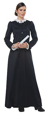 Susan B Anthony Harriet Tubman 1800's Colonial Historical Adult Women - Historical Women Costume
