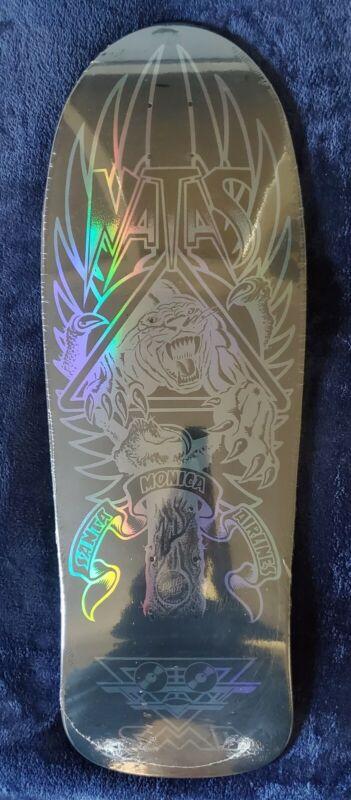 Natas Kaupas Blind Bag Skateboard Reissue Deck Black Custom Prismatic Santa Cruz