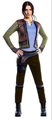 Rogue Halloween Costumes (Rubies Star Wars Rogue One Jyn Erso Women's Costume Halloween Cosplay Small Sm)