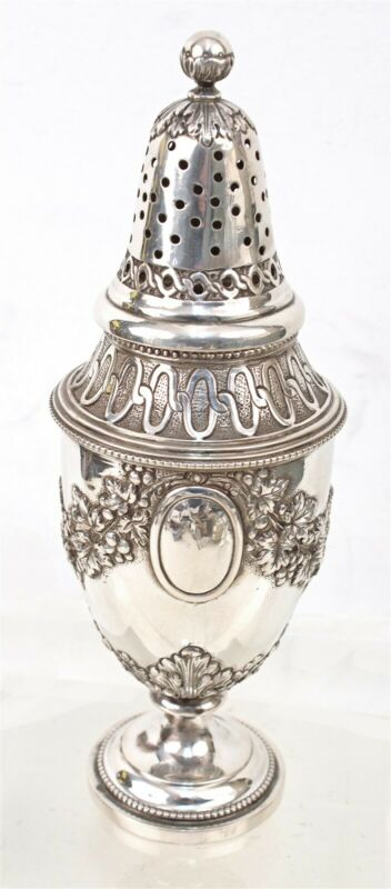 Sterling Muffineer With French Assay Marks