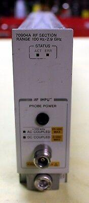 Agilent Hp Keysight 70904a Rf Module 2.9 Ghz
