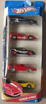 Hot Wheels VHTF Ferrari 5 Pack 512M P4 F430 FXX & 308GTS in yellow