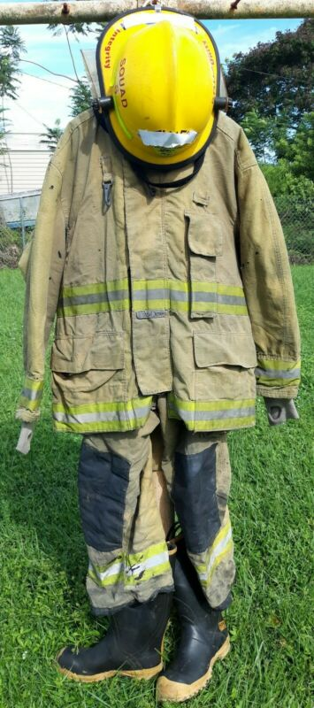 Firefighter Turnout Suit; Jacket Pants Helmet Boots & More FireDex Cairns Ranger