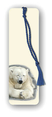 Polar Bear Bookmark (Ref eb347) Animal Wildlife £2.12 incl FREE 1st Class p&p