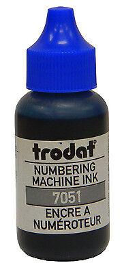 Trodat Numbering Machine Ink Blue