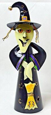 Hexe aus Metall, Handarbeit Neu 2 verschiedene Designs, Bali, Halloween
