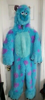 Sulley Pixar Costume Small Disney Store Monsters Inc Boys Girls Halloween SZ S (Monster Sulley Kostüm)