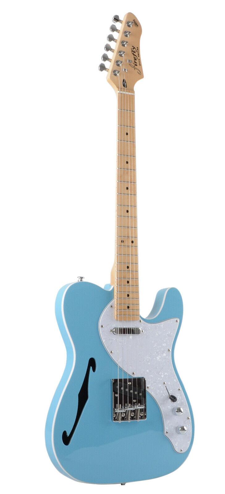 new ffth semi hollow body guitar electri