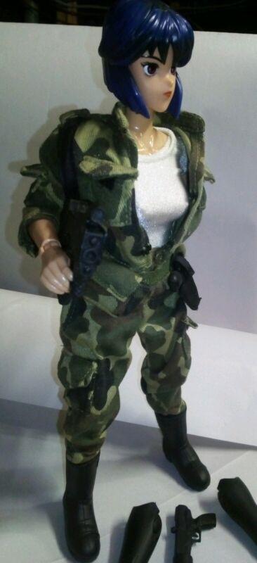 Perfect!! GHOST IN THE SHELL Doll Valiant Army Wear Motoko Kusanagi