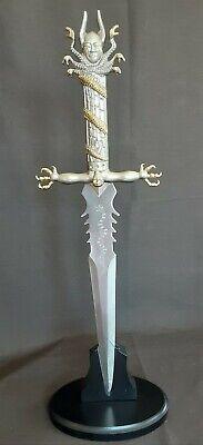 DAGA DECORATIVA 51cm. KNIFE OF DARKNESS