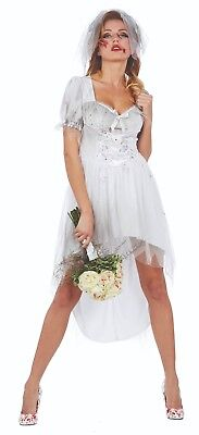 Mottoland 118215 - Bloody Bride, Braut * Gr. 36 - 44 * Halloween Damen Kostüm