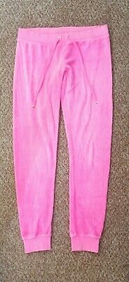 Juicy Couture Pink Tracksuit Bottoms Women's Size XS