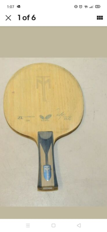 BUTTERFLY TIMOBOLL ZLC table tennis blade- flared handle