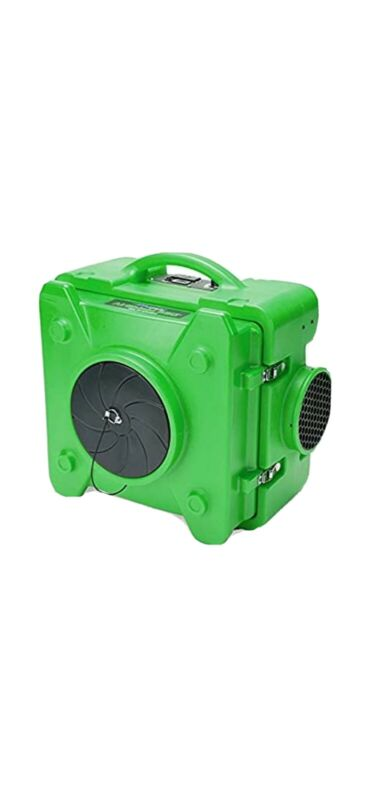 MOUNTO 500cfm Portable Air Scrubber Negative Hepa Air Purifier  works perfectly