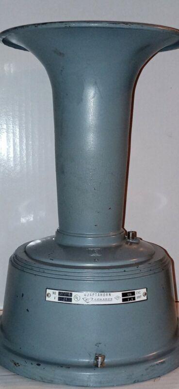 Edwards Co. Adaptahorn Siren Horn Alarm Warning Signal NO. 372A