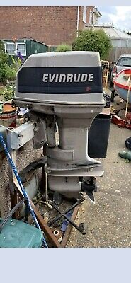 40hp Evinrude outboard engine