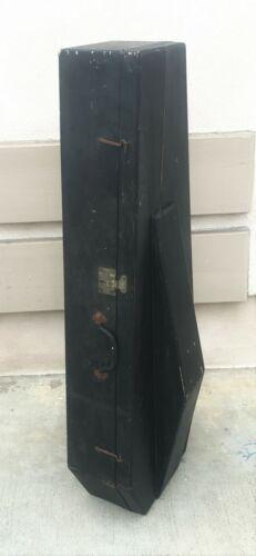 19th Century Cello Coffin Case w/ White Star Line Luggage Sticker