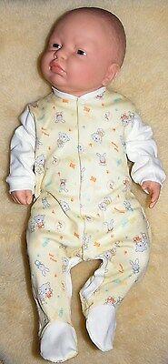 Baby Schlafanzug in gelb