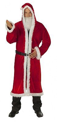 Nikolausmantel Weihnachtsmann Kostüm 3tlg Nikolaus Karneval Fasching Weihnachten
